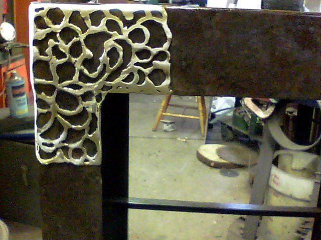 Close-up Of Shelves  Sculpture