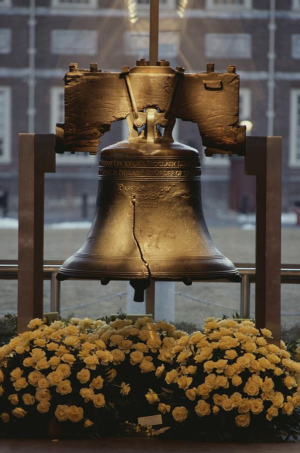 Close View Of The Liberty Bell Photograph  - Close View Of The Liberty Bell Fine Art Print