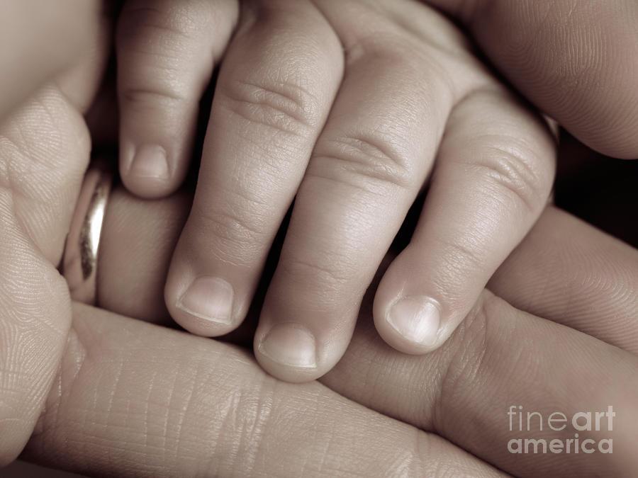 Closeup Of A Babys Hand Photograph