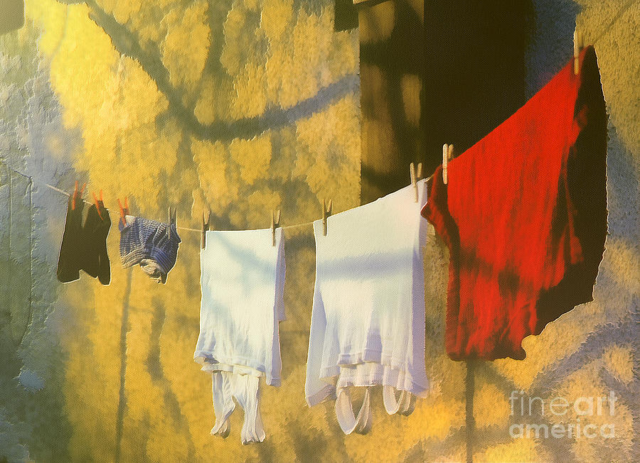 Clothing Painting  - Clothing Fine Art Print