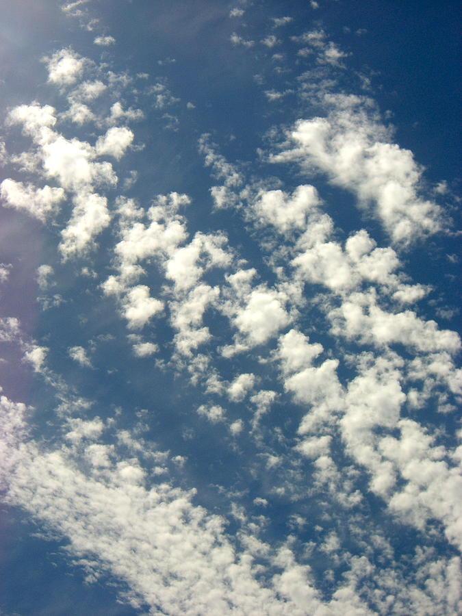 Cloud Clusters Photograph