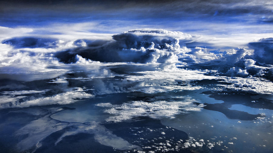 Cloud Formations V2 Photograph  - Cloud Formations V2 Fine Art Print