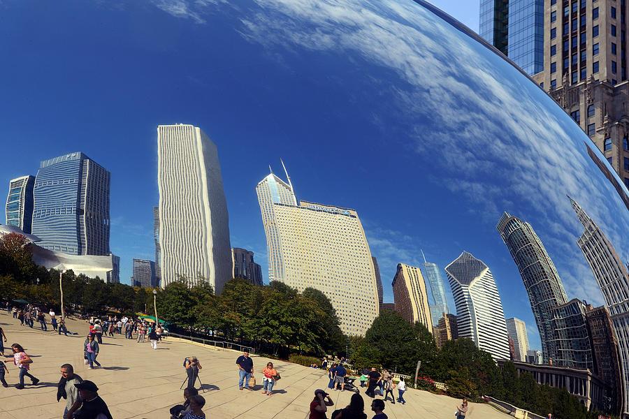 Cloud Gate Millenium Park Chicago Photograph