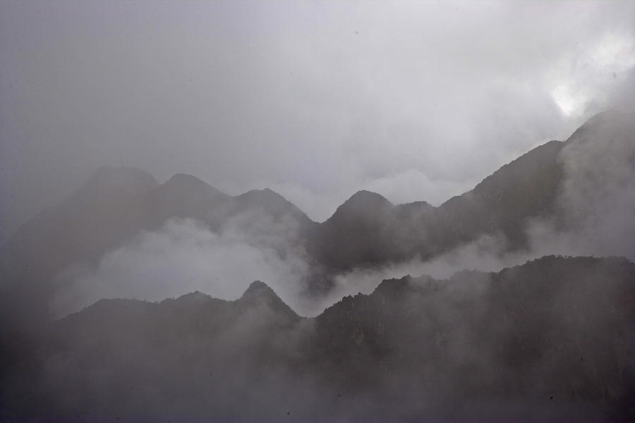 Cloud Shrouded Machu Picchu Photograph  - Cloud Shrouded Machu Picchu Fine Art Print