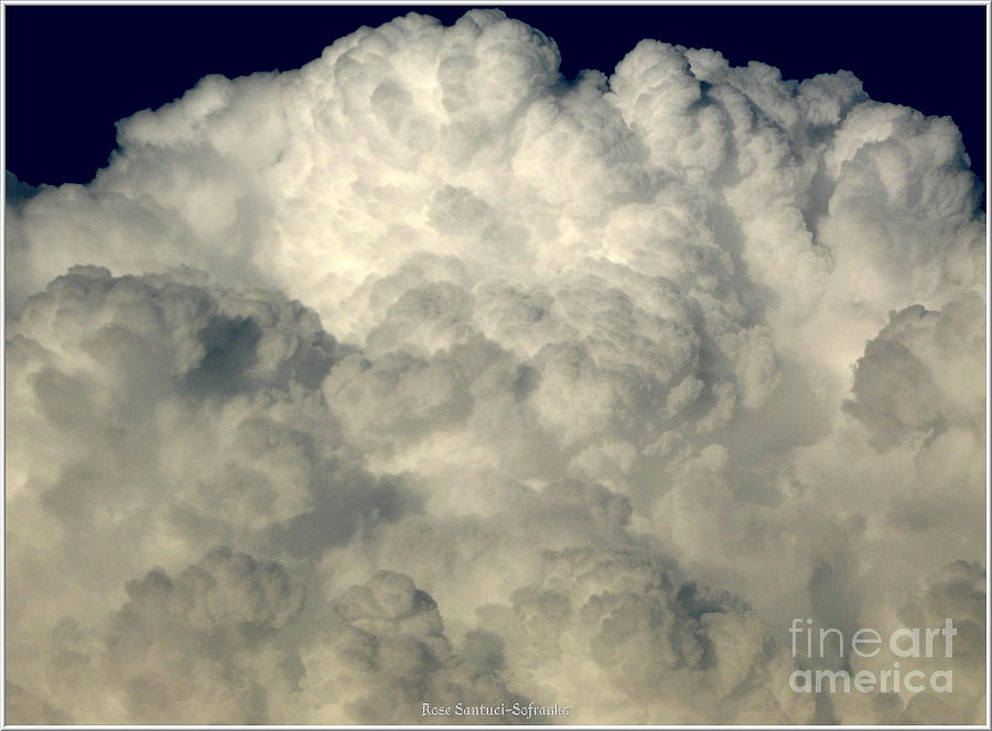 Clouds 8 Photograph  - Clouds 8 Fine Art Print