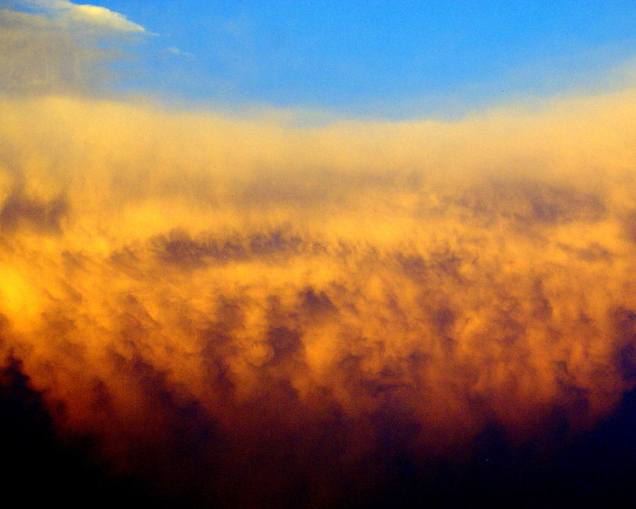 Clouds Ablaze Photograph  - Clouds Ablaze Fine Art Print
