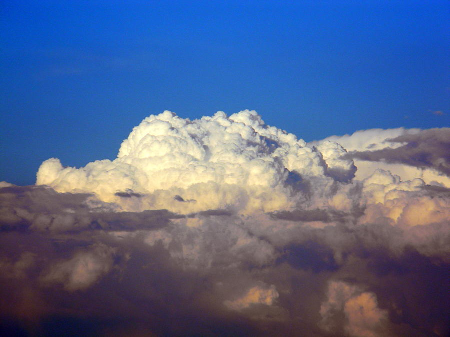 Clouds Photograph - Clouds In The Water by Jessica Duede