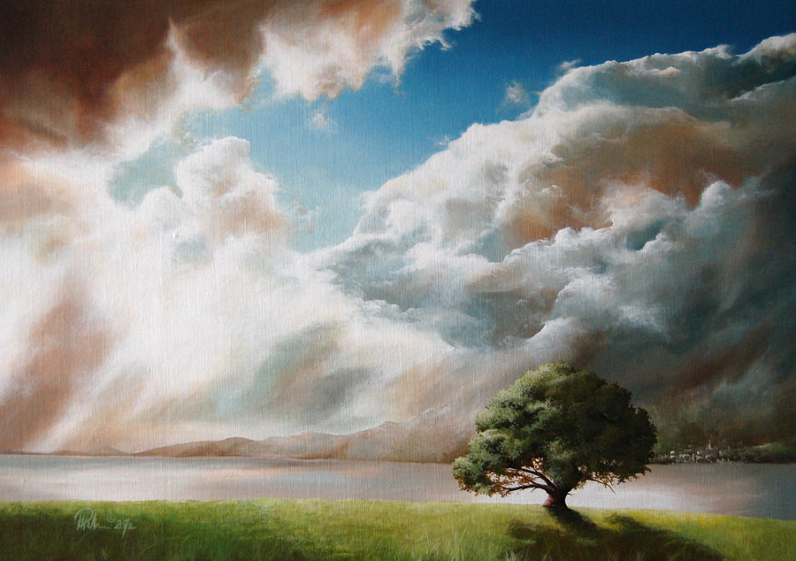 Clouds Painting - Clouds by Mario Pichler