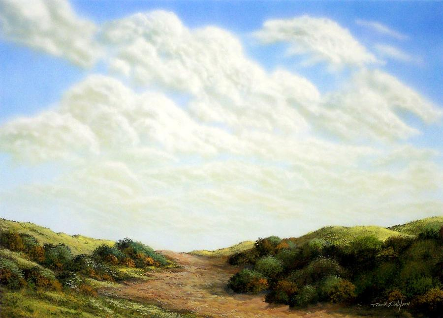 Clouds Of Spring Painting  - Clouds Of Spring Fine Art Print
