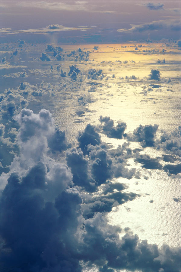 Clouds Over Ocean Photograph  - Clouds Over Ocean Fine Art Print
