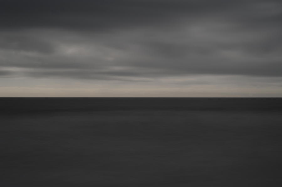 Cloudy Afternoon On Beach Photograph