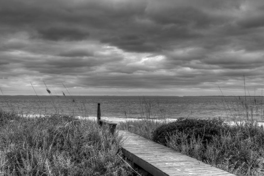 Cloudy Day In Paradise Photograph  - Cloudy Day In Paradise Fine Art Print