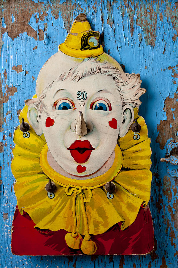 Clown Toy Game Photograph
