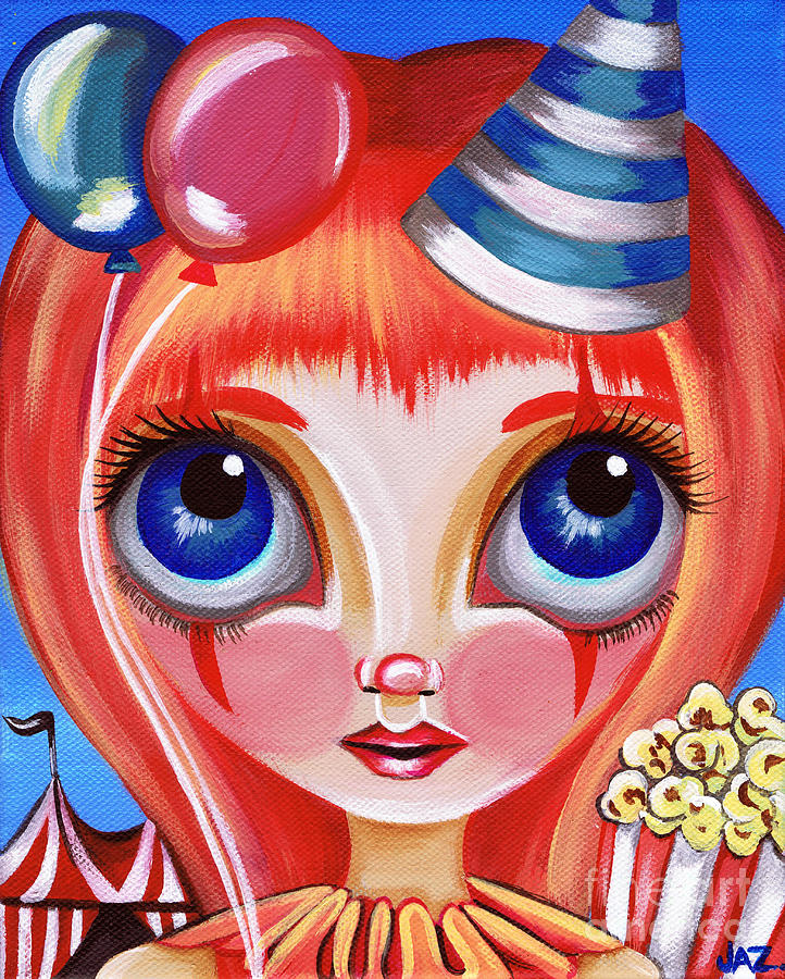 Clowning Around Painting  - Clowning Around Fine Art Print