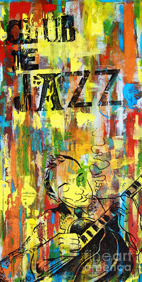 Club De Jazz Mixed Media