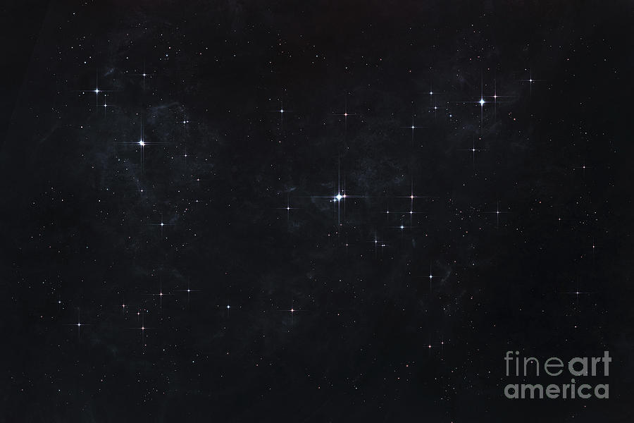 Deep Space Digital Art - Cluster Of Stars In Outer Space by Tomasz ...