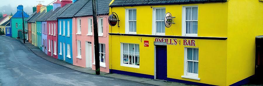 Co Cork, Eyeries Village In The Rain Photograph