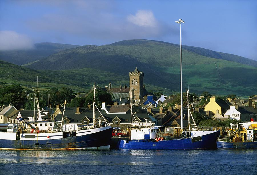 Co Kerry, Dingle Harbour Photograph