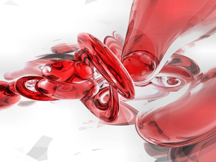 Coagulation Abstract Digital Art