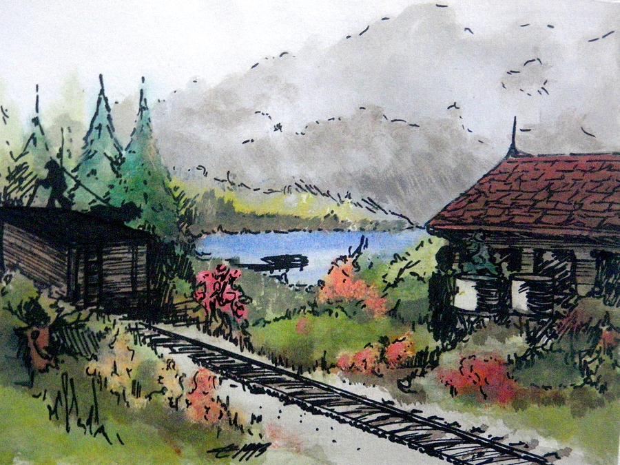 Coal Car Painting