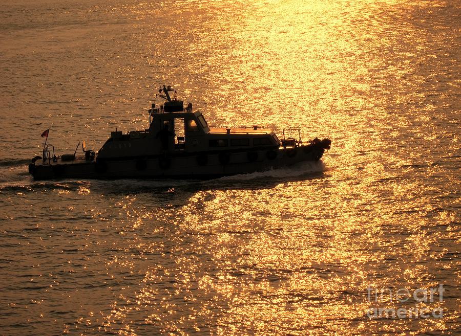 Coastguard Vessel Photograph