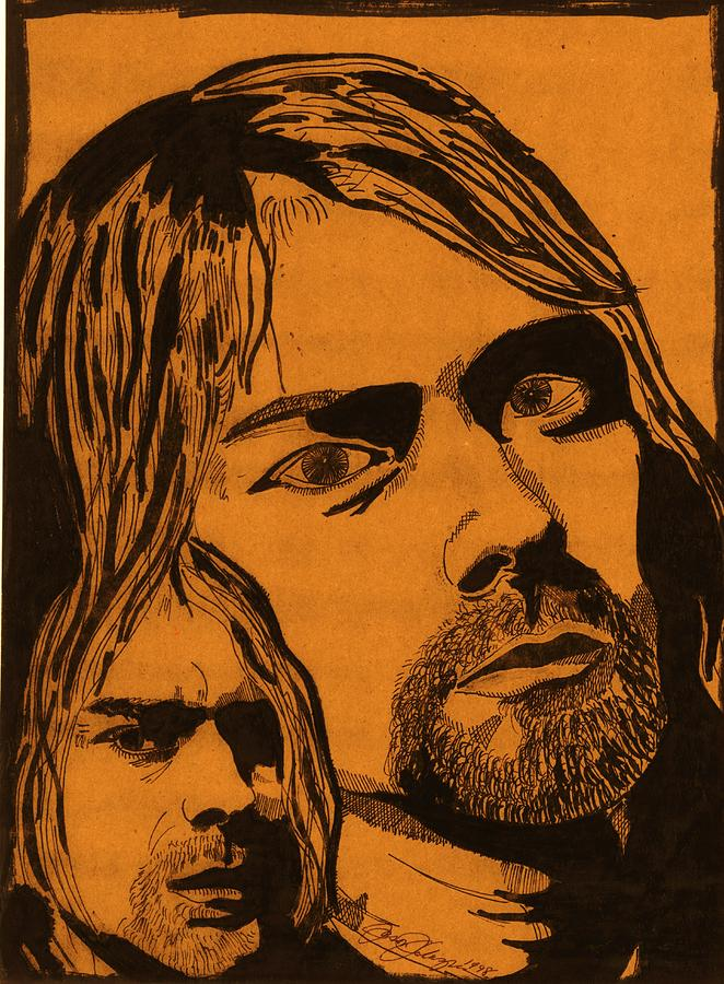 Cobain Drawing