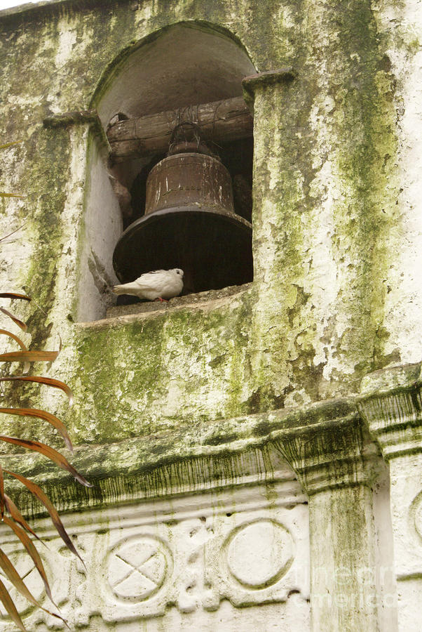 Coban Church Bell Photograph  - Coban Church Bell Fine Art Print