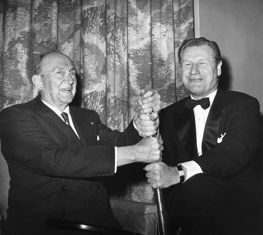 1960 Photograph - Cobb & Rockefeller, 1960 by Granger