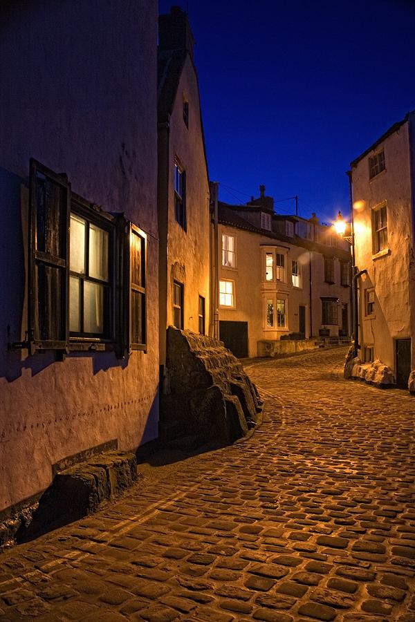 Cobblestone Road, North Yorkshire Photograph  - Cobblestone Road, North Yorkshire Fine Art Print