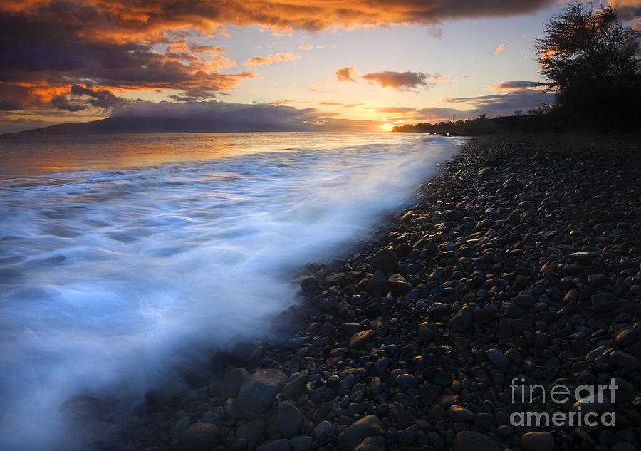 Cobblestone Sunset Photograph  - Cobblestone Sunset Fine Art Print