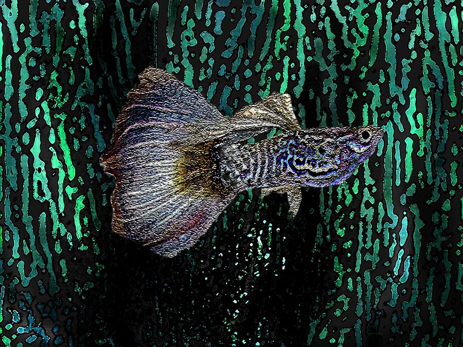 Cobra Fish In Digital Art Digital Art  - Cobra Fish In Digital Art Fine Art Print