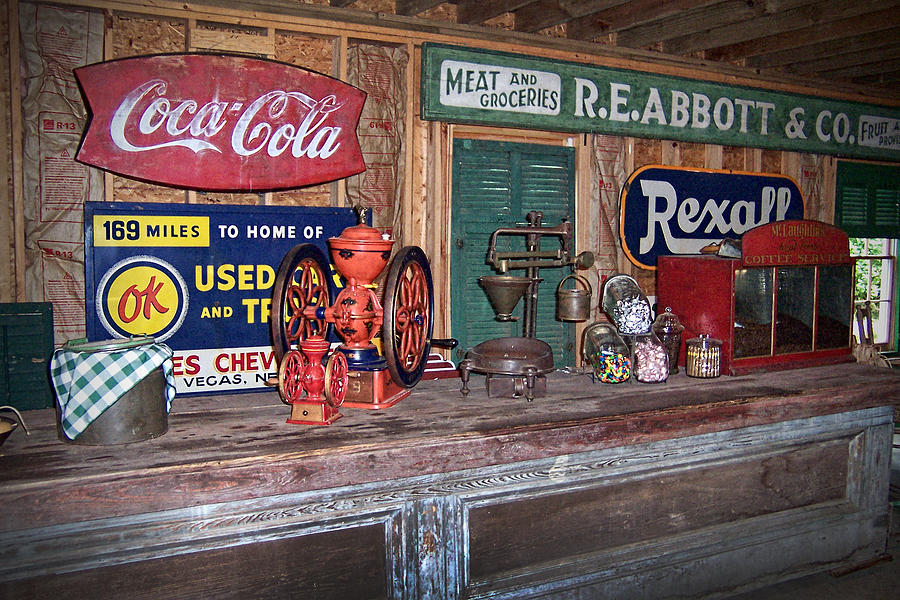 Metal Sales: Large Antique Metal Signs For Sale