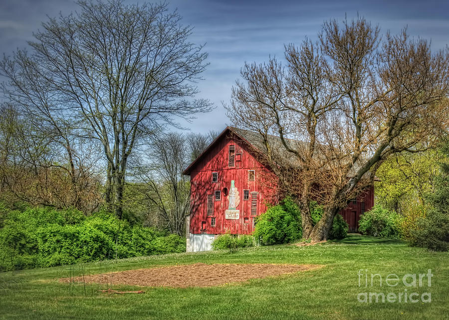 Coca Cola Barn Photograph  - Coca Cola Barn Fine Art Print