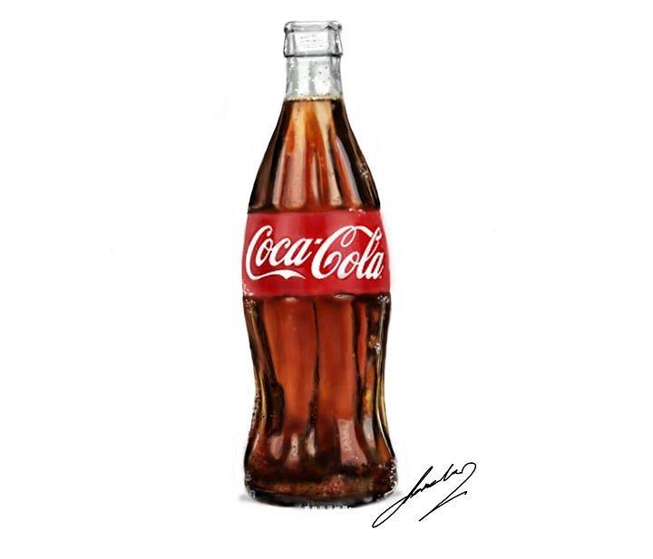 cocacola bottle clip art � cliparts