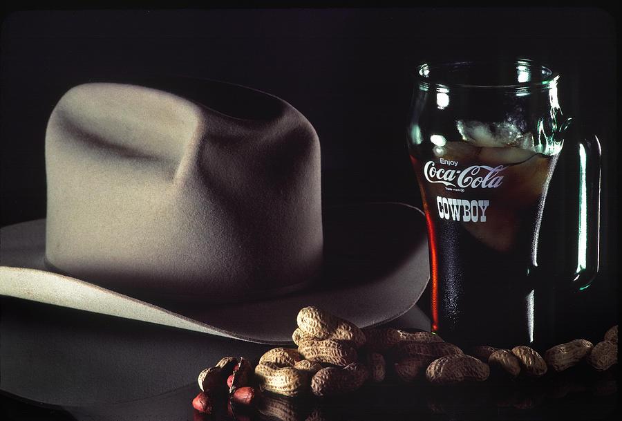 Coca Cola Cowboy Photograph