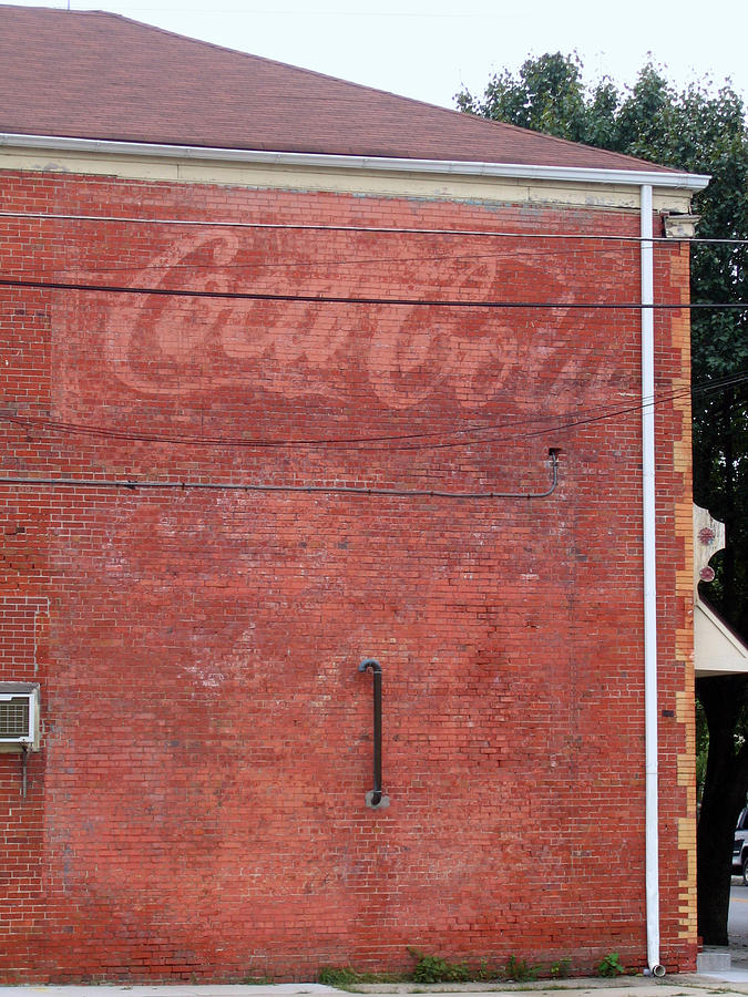 Coca Cola Faded Photograph