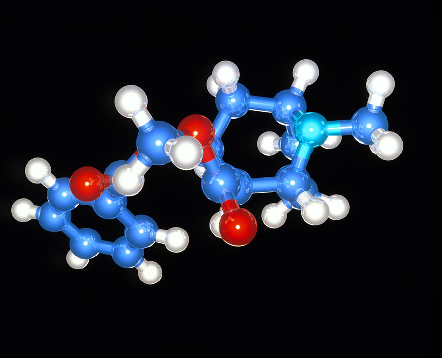 Cocaine Molecule Photograph