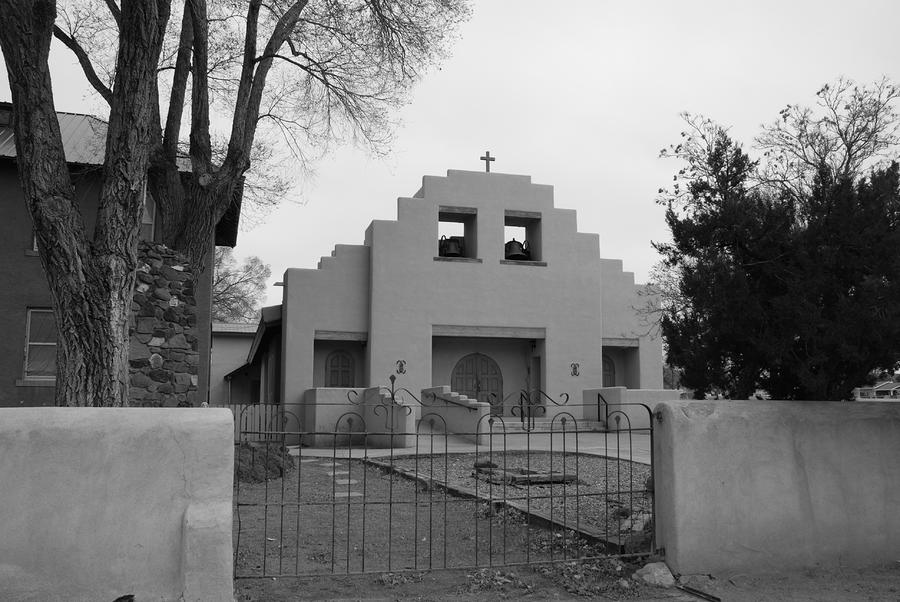 Cochiti Church Photograph