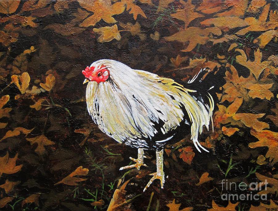 Cockerel Painting