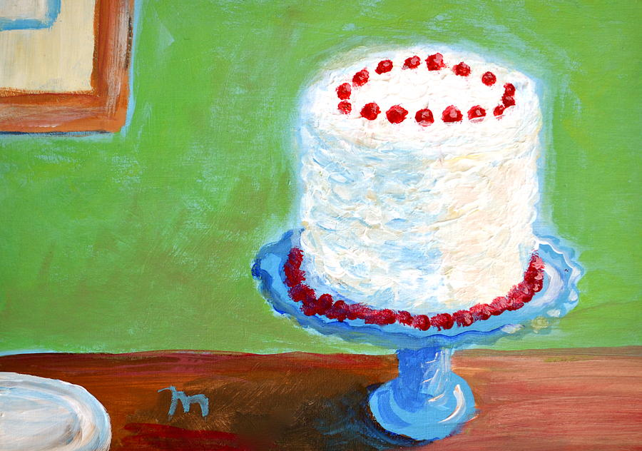 Coconut Cake Painting