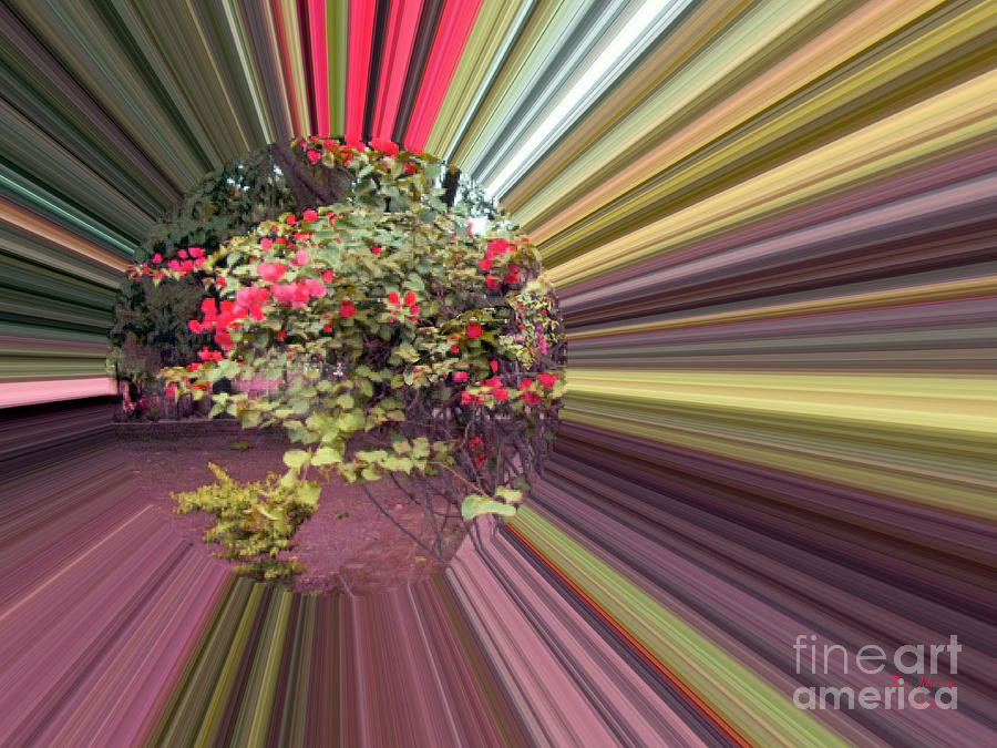 Coffee Ranch Crystal Digital Art  - Coffee Ranch Crystal Fine Art Print