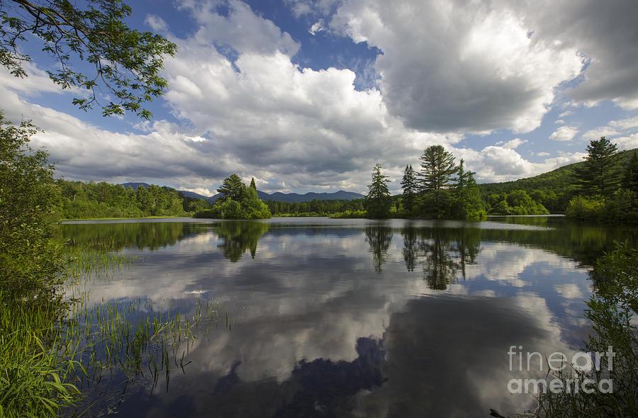 Coffin Pond - Sugar Hill New Hampshire Photograph