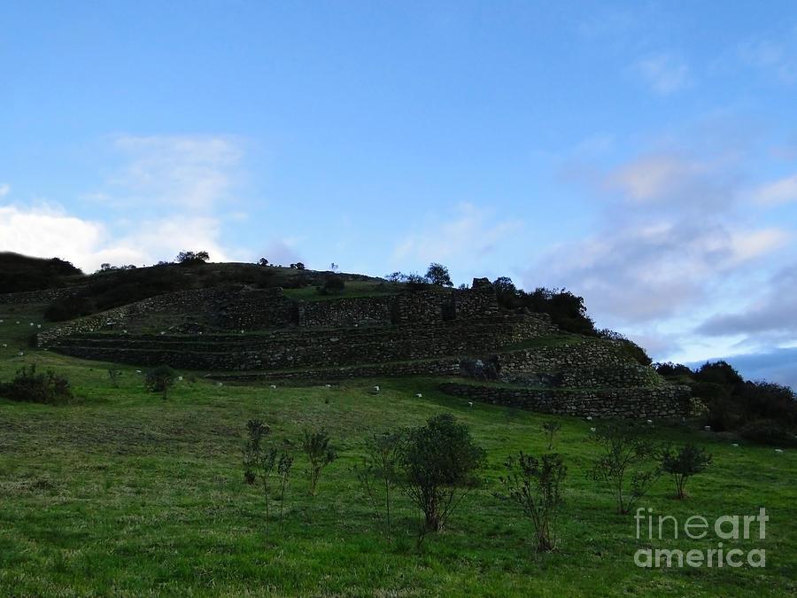 Cojitambo Ecuador Inca Ruins Photograph