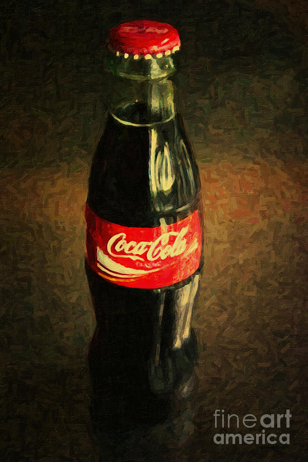 Coke Bottle Photograph  - Coke Bottle Fine Art Print