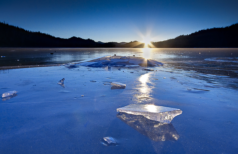 Cold As Ice Photograph