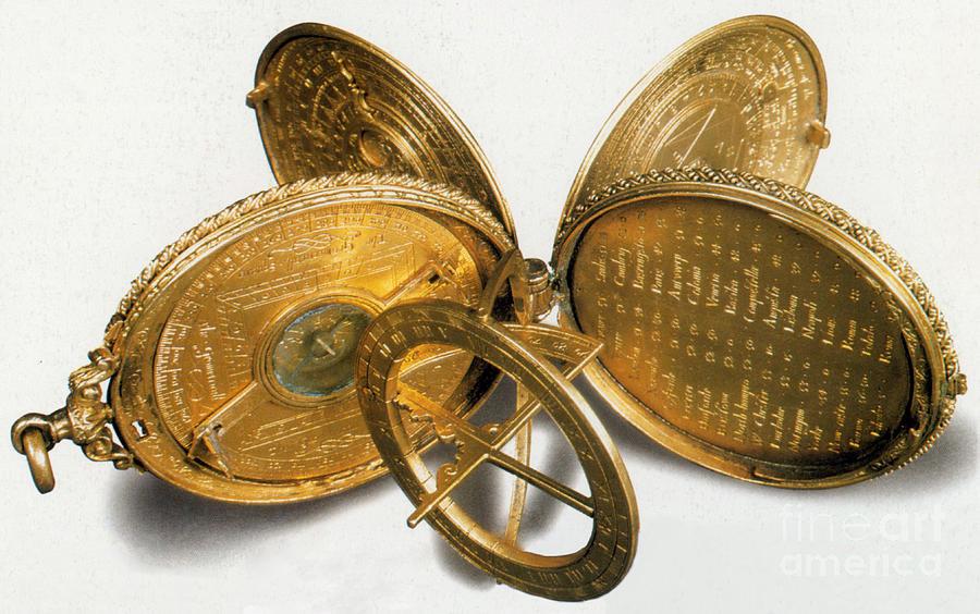 Cole Astronomical Compendium Dial, 1569 Photograph