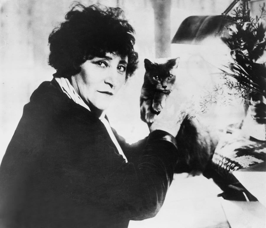 Colette 1873-1954 As The Most Honored Photograph