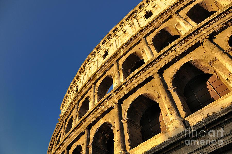 Ancient Rome Photograph - Coliseum. Rome by Bernard Jaubert