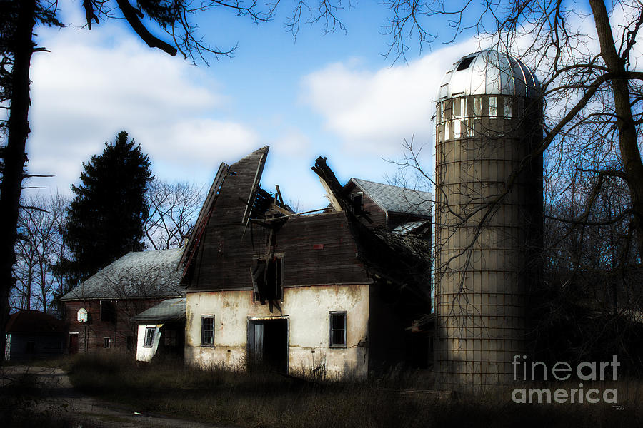 Collapsed Photograph  - Collapsed Fine Art Print