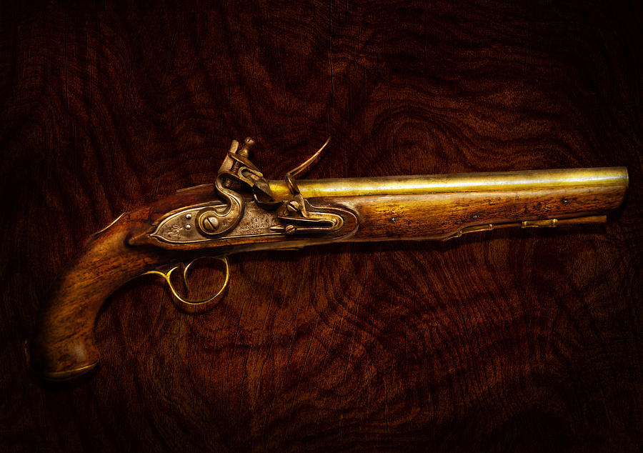 Collector - Gun - Flintlock Pistol  Photograph